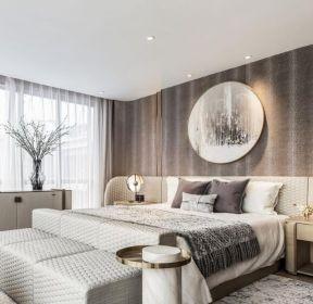 新中式风格家庭卧室装修效果图欣赏-每日推荐