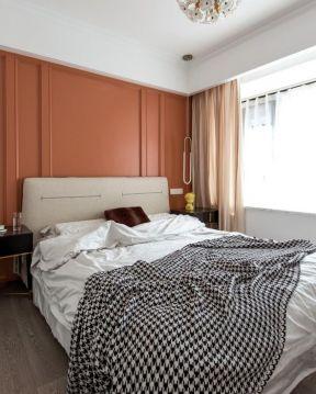 臥室背景墻顏色 輕奢臥室裝修效果圖