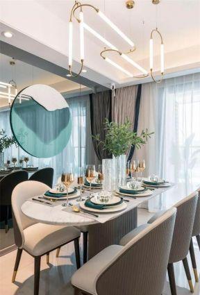 餐桌椅子裝修效果圖片 輕奢餐廳裝修效果圖