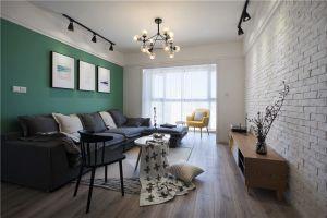 怡江城北欧风格120平米三居室装修案例