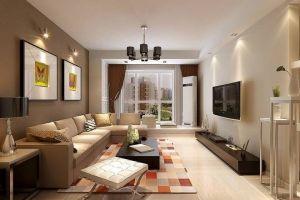 颐新华都现代风格85平米二居室装修案例