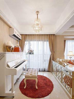 鋼琴客廳擺放效果圖 客廳鋼琴圖片 家庭室內鋼琴圖片