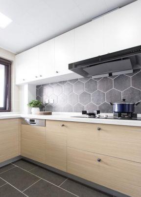 廚房設計效果圖大全 廚房墻磚地磚 廚房墻磚地磚效果圖