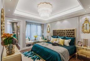 歐式臥室效果 樣板房臥室裝修效果圖
