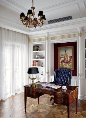 歐式風格書房裝修圖片 歐式風格書房裝修效果圖