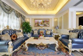 歐式客廳裝修設計 歐式客廳裝飾效果圖 歐式沙發效果圖大全