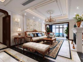 歐式客廳裝飾效果圖 歐式古典客廳裝修效果圖