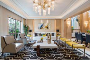 歐式風格客廳背景墻 歐式風格客廳裝潢圖