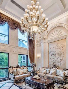 歐式別墅客廳裝修效果圖 歐式古典客廳裝修效果圖