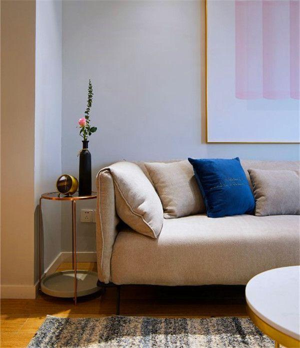 輕奢風格客廳軟裝