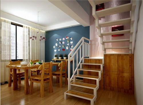 温州装饰公司分享:小复式房装修效果图 尽享复式设计的舒适温馨
