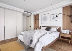 128平新房臥室白色衣柜裝修效果圖