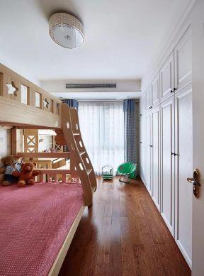 兒童房設計上下床 兒童房設計效果圖 兒童房衣柜效果圖
