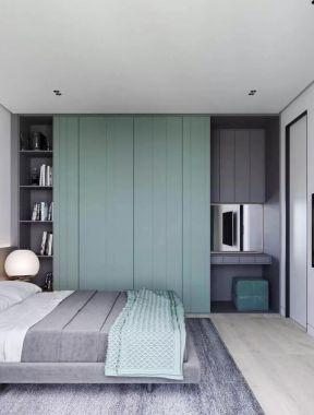 臥室衣柜效果圖大全2019款圖片 單身公寓臥室裝修效果圖