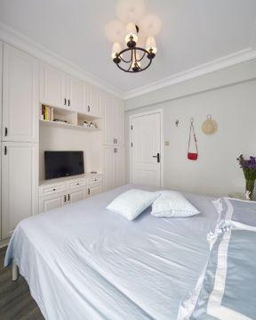 臥室衣柜裝修設計圖 電視柜衣柜一體柜