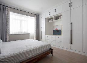 臥室整體衣柜效果圖大全 簡約風格臥室裝修圖 簡約風格臥室效果圖