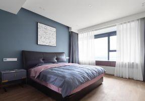 現代臥室裝修圖片 臥室窗簾裝飾圖片