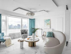 法式客廳裝修效果圖欣賞 法式客廳裝潢 法式客廳裝修圖片