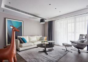 客廳沙發圖片 客廳窗簾裝潢效果圖