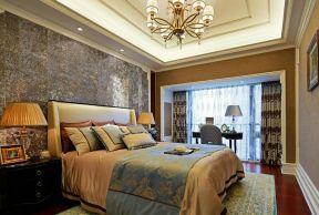 新古典臥室設計 臥室窗簾裝飾圖片 臥室窗簾裝修效果圖大全2019圖片