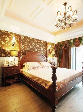 美式風格臥室圖片 美式古典臥室效果圖