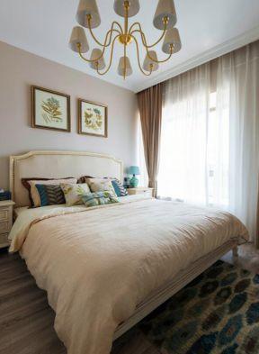 臥室窗簾裝飾圖 臥室設計效果圖 臥室窗簾裝飾圖片
