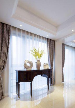 別墅走廊效果圖 室內窗簾效果圖 室內窗簾裝飾效果圖大全