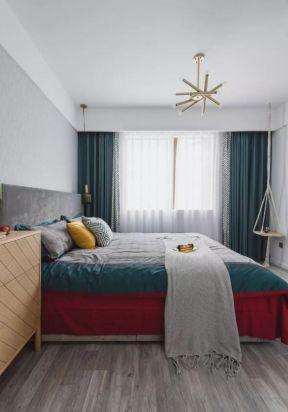 臥室窗簾裝修效果圖 臥室窗簾裝飾圖 臥室窗簾搭配圖片