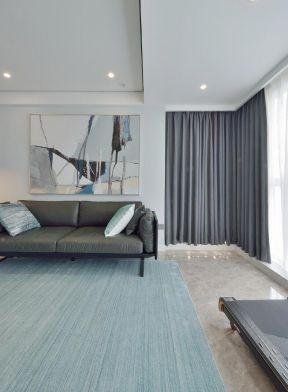 客廳窗簾裝飾圖 客廳窗簾裝飾效果圖 現代簡約客廳效果圖大全
