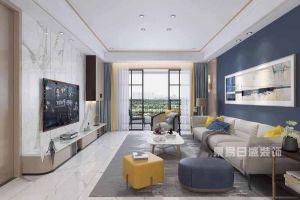 黄山华都现代风格177平米三居室装修案例