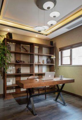 混搭風格書房裝修效果圖 書房書桌效果圖 書房書桌裝修設計圖片