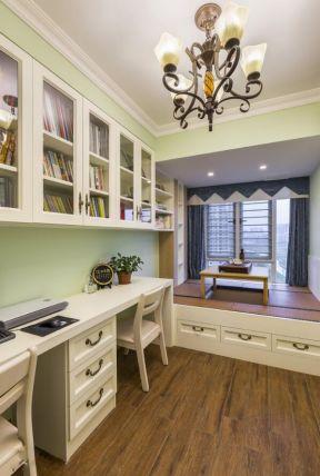 美式書房裝修效果圖 美式書房裝修 書房茶室效果圖