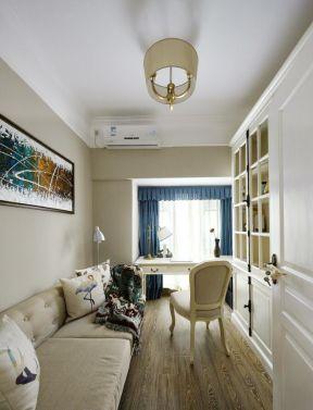美式風格書房效果圖 美式風格書房裝修效果圖 書房沙發圖片大全