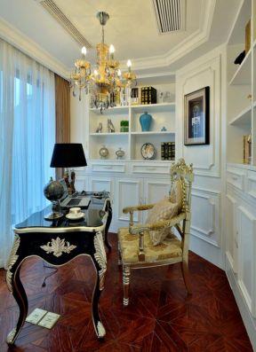美式書房裝修效果圖大全 美式書房裝修設計