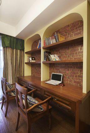 美式書房家具圖片 美式書房設計圖片 美式書房裝飾