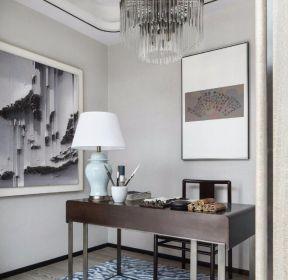 新中式風格書房吊頂燈裝修效果圖大全-每日推薦