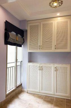 美式風格進門鞋柜裝潢效果圖片