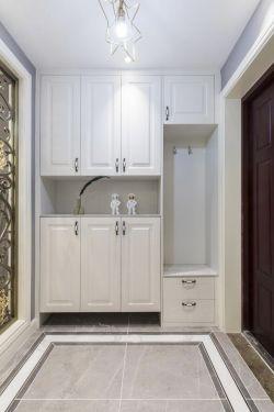 歐式風格新房進門鞋柜設計效果圖