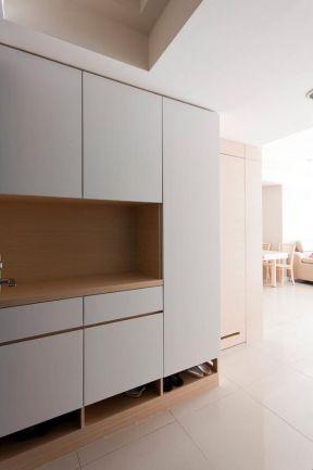白色鞋柜裝修效果圖 白色鞋柜圖片  簡約鞋柜設計