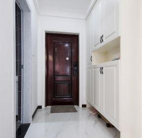 108現代風格三居室進門鞋柜裝修圖片-每日推薦