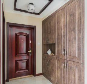 現代風格128平新房進門鞋柜裝修圖片-每日推薦