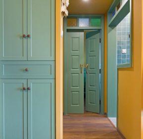混搭風格新房進門鞋柜顏色效果圖-每日推薦