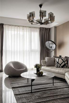 簡約客廳裝飾效果圖 簡約客廳裝修設計 客廳吊頂燈具圖片大全