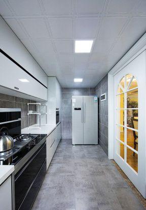 廚房吊頂造型 廚房吊頂效果圖片 大戶型廚房裝修效果圖
