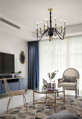 客廳吊燈圖片 輕奢風格客廳