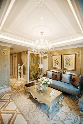 客廳吊頂設計風格 復式樓客廳吊頂