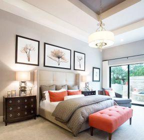 高端別墅臥室吊頂裝修設計效果圖大全-每日推薦