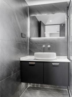 89平簡約風格新房衛生間洗手臺設計圖