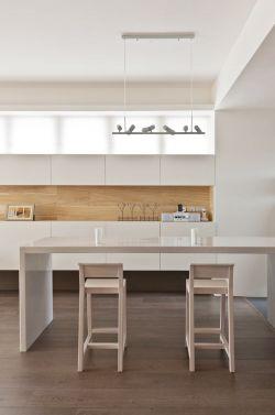 135平簡約風格新房室內吧臺裝修設計圖