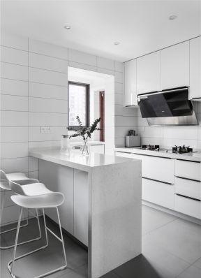 廚房吧臺裝修設計圖 簡約廚房裝修設計
